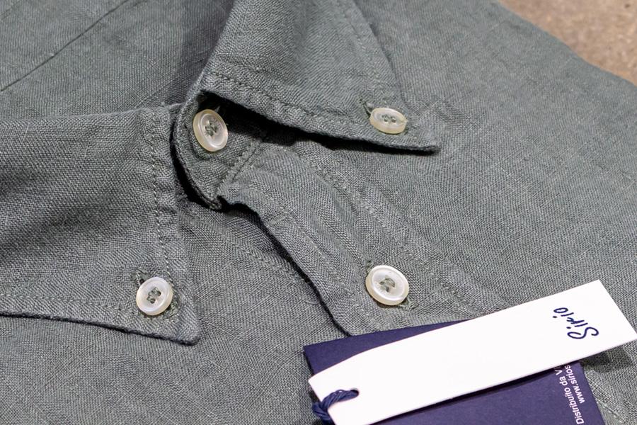 Colletto camicia lino Sirio