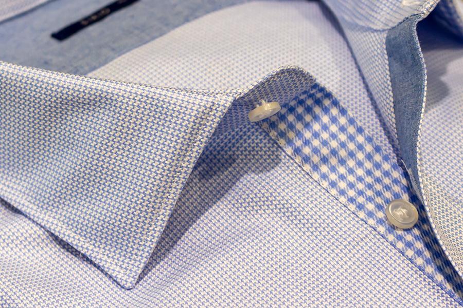 Dettaglio colletto camicia Sirio