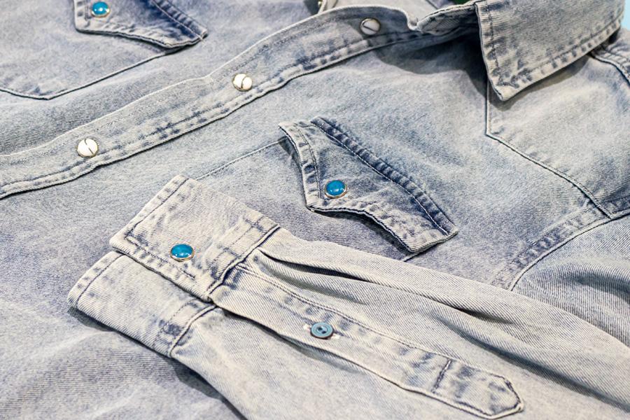 Camicia di Jeans Sirio dettagli