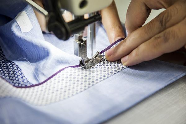 Making the shirts